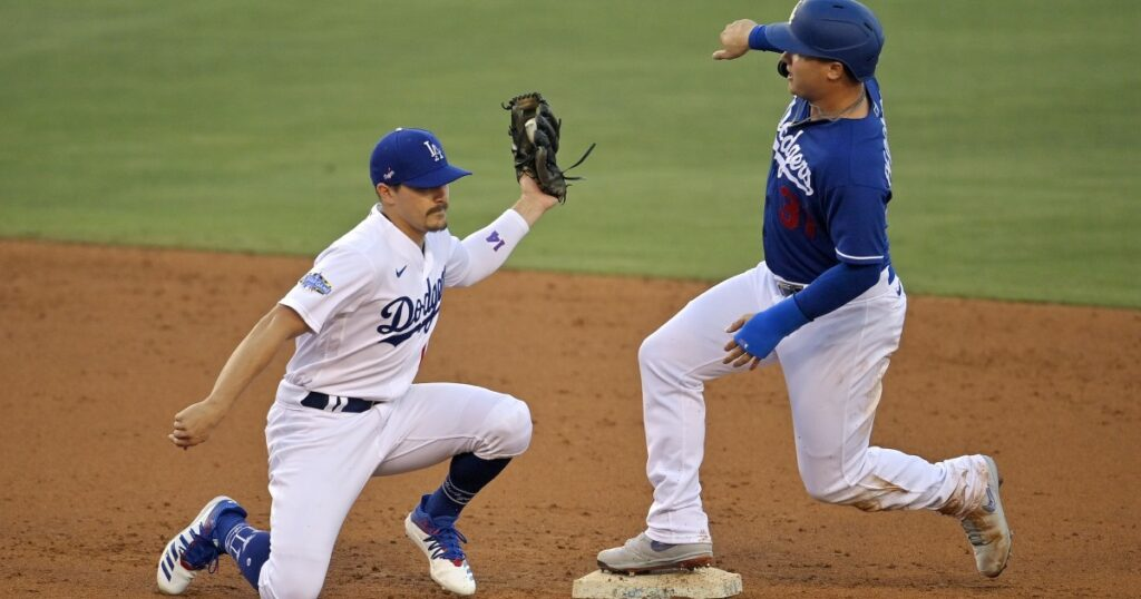 Chico is the man in Dodgers' intrasquad games