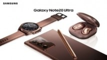 Everything in Mystic Bronze: Note20, Buds Live and Watch3