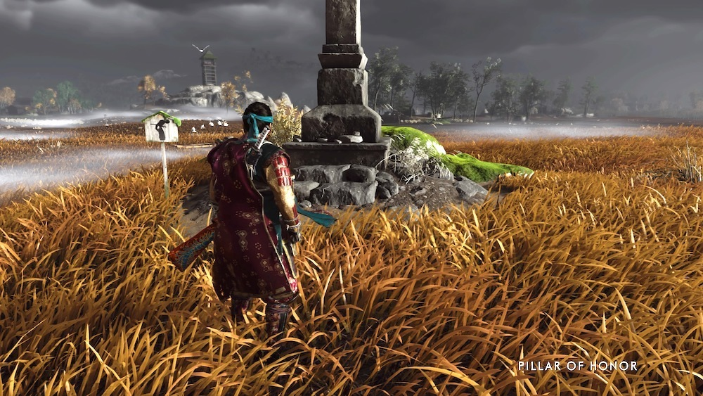 There's a lot of cool stuff to find in Ghost of Tsushima. If you feel like it.