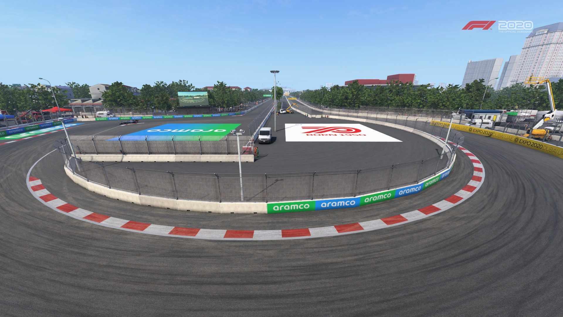 F1 2020 Vietnam turn 8