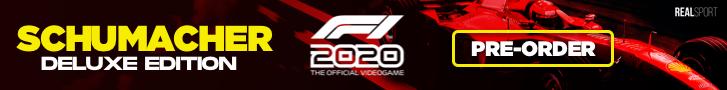 PRE ORDER F1 2020