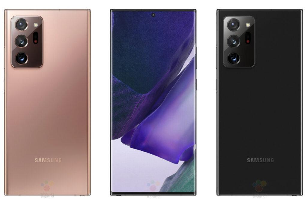 Massive Galaxy Note 20 Ultra 5G leak reveals full specs and renders