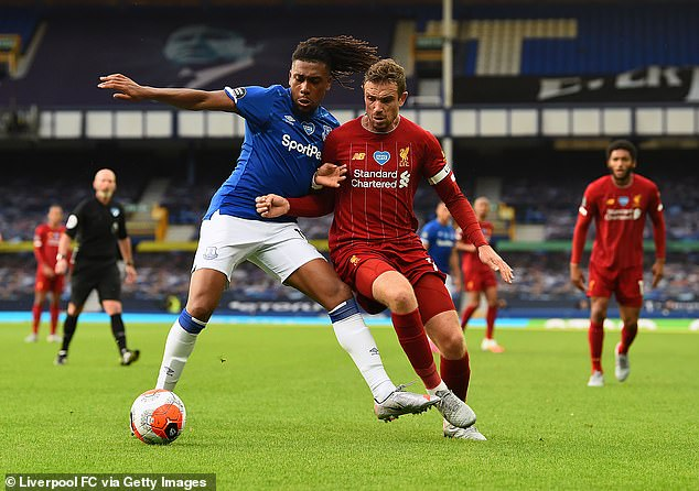 The Merseyside derby between Everton and Liverpool was one of 33 shown free-to-air