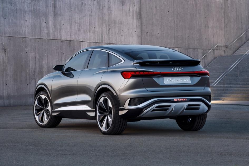 Audi's Q4 Sportback e-tron concept will go into production in 2021