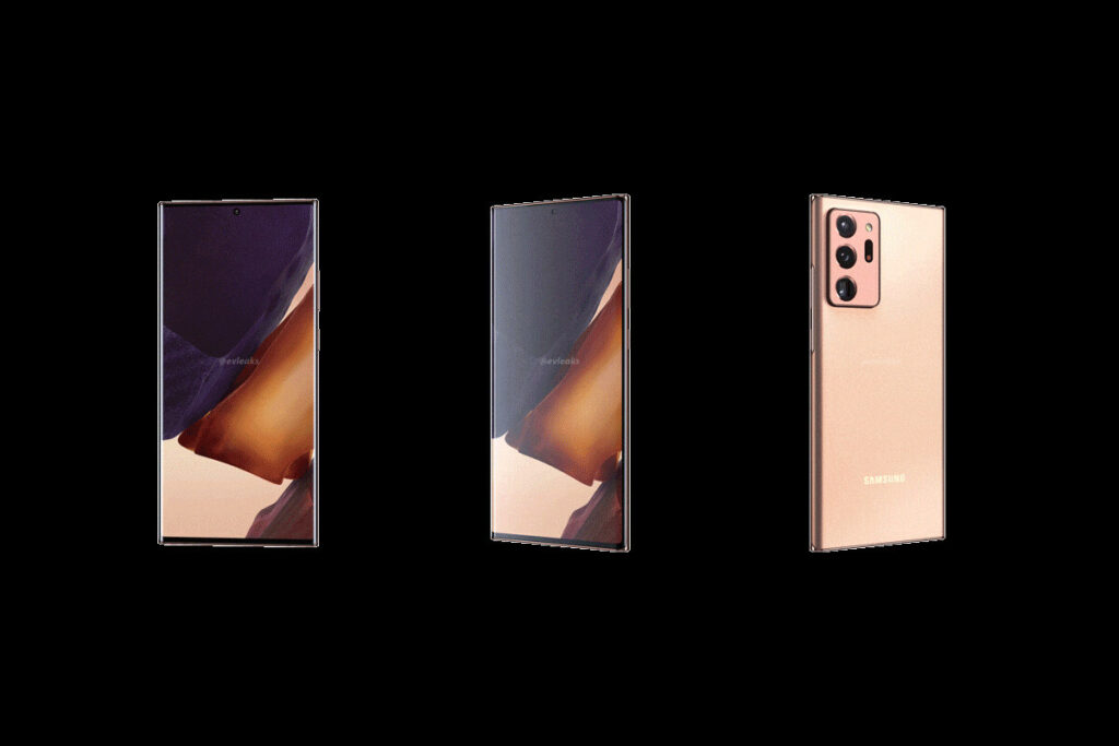 Behold the Samsung Galaxy Note 20 Ultra 5G in Mystic Bronze and a full 360 tour