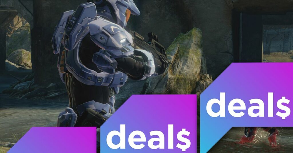 Best gaming deals: Switch Pro Controller, Halo: The Master Chief Collection