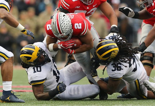 Big Ten football fans will only see conference games this season like Ohio State-Michigan.