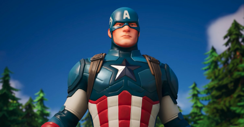 Captain America is now in Fortnite