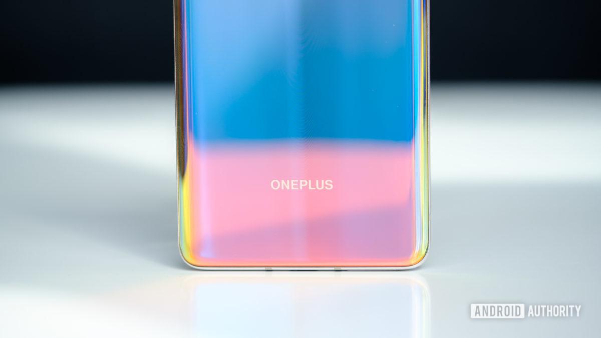 OnePlus 8 back OnePlus logo