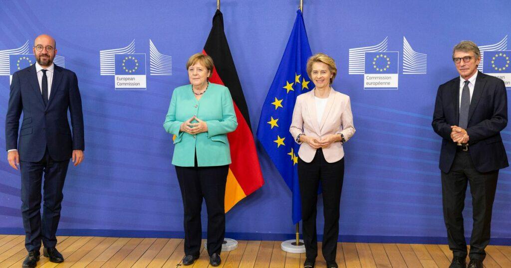 Compromesso Merkel. 500 miliardi di sussidi. Per i prestiti c'è il Mes