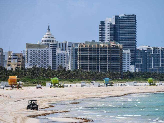Coronavirus, Usa: la Florida in allarme richiude spiagge e bar