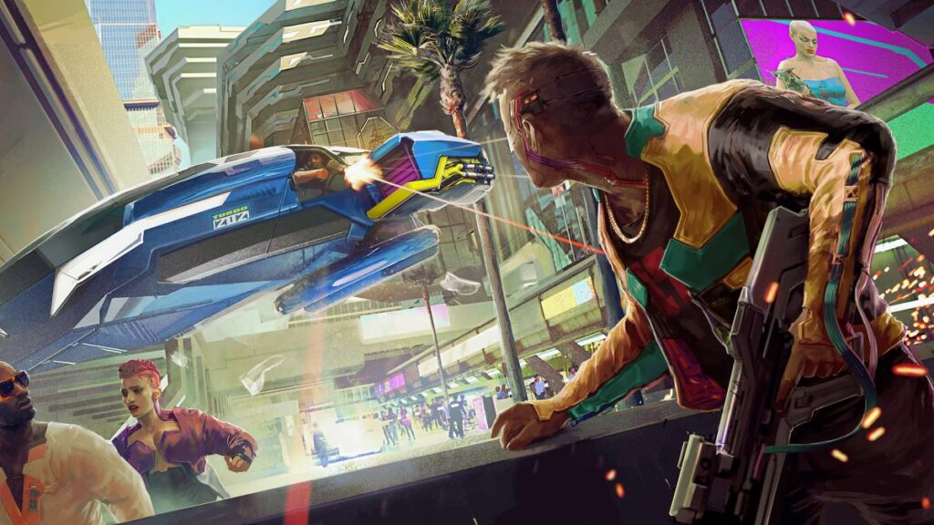 Cyberpunk 2077 will not be on Xbox Game Pass, in case you were wondering