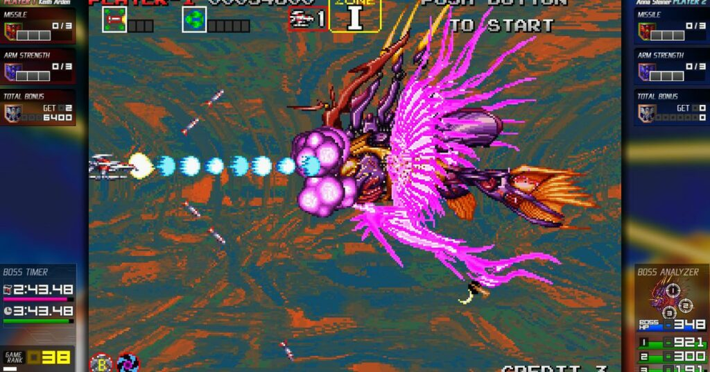 Darius Cozmic Collection review: video game as acid trip