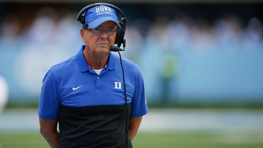 Duke football coach David Cutcliffe favors playing only conference games in 2020
