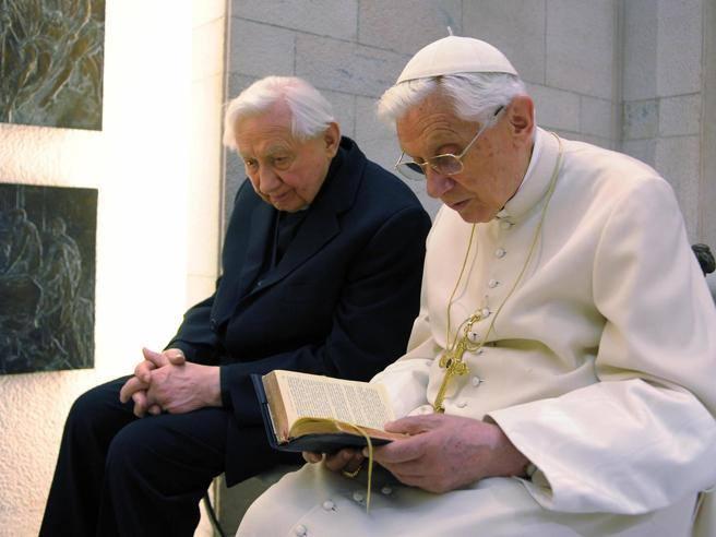 Georg Ratzinger, è morto il fratello di Benedetto XVI