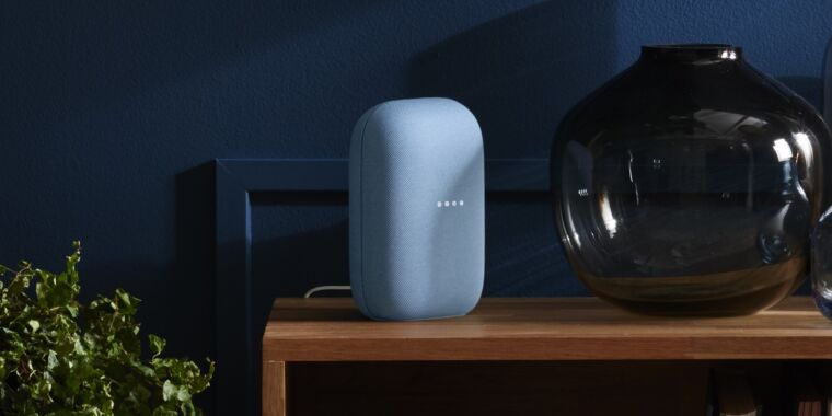 Google's new Nest smart speaker is all cloth