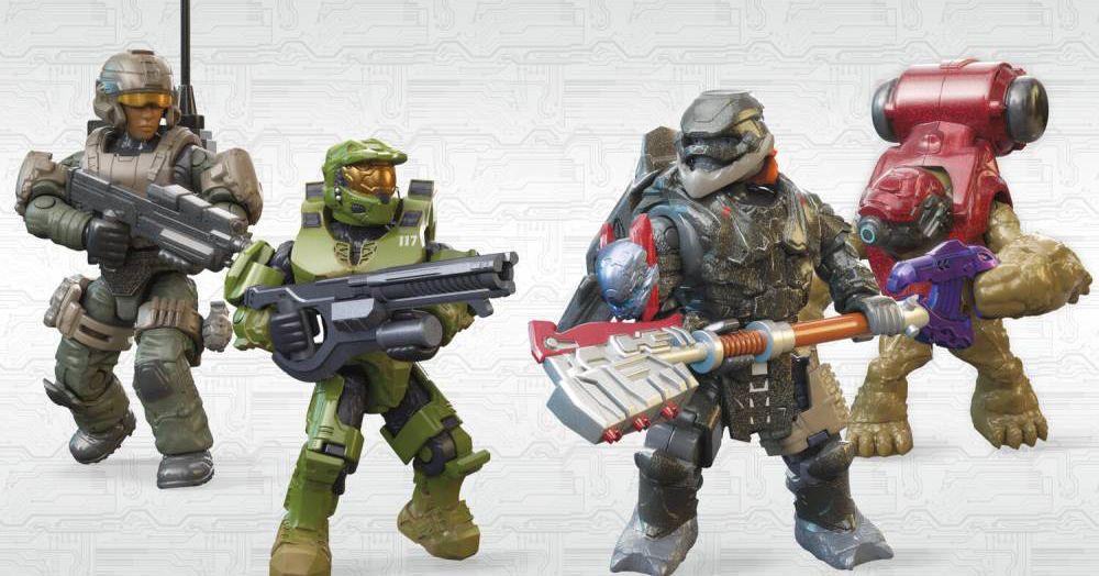 Halo Infinite Mega Bloks set potentially spoils major plot point