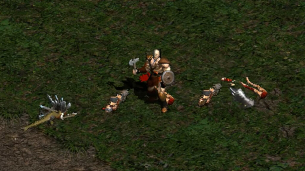 Here's what Diablo 2 would look like running at 4K and 60fps