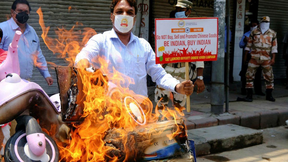 Boycott Chinese products India