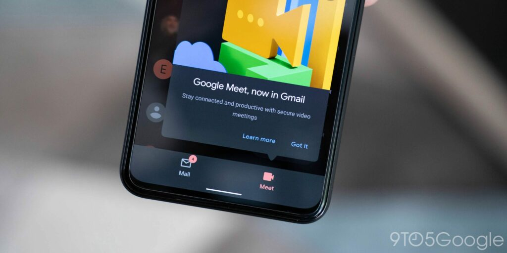 How to disable Meet tab in Gmail for Android and iOS