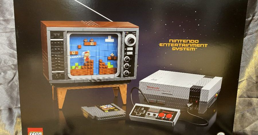 Lego NES set coming from Nintendo and Lego