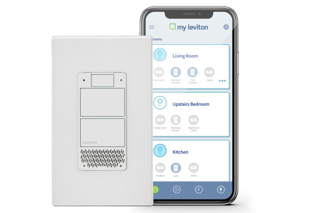 Leviton puts Alexa in a dimmer switch