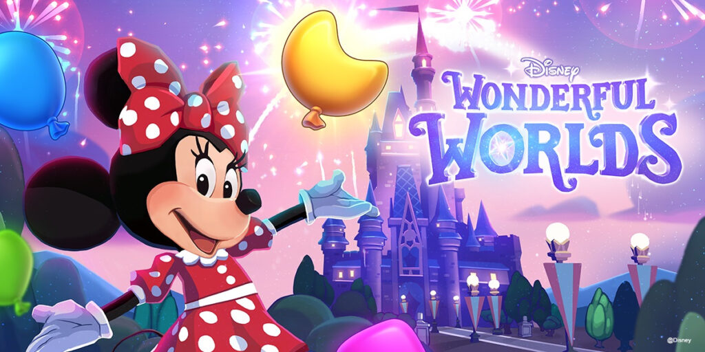 Ludia unveils Disney Wonderful Worlds mobile puzzle game