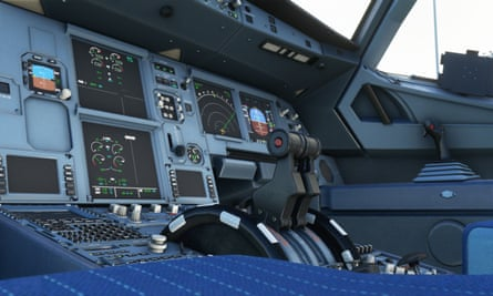 What does this button do? ... Flight Simulator