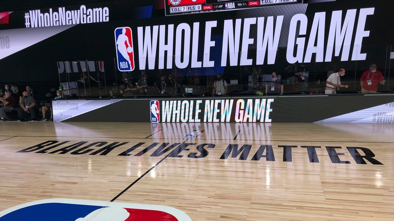 NBA's whole new look for 'Whole New Game' starts Wednesday