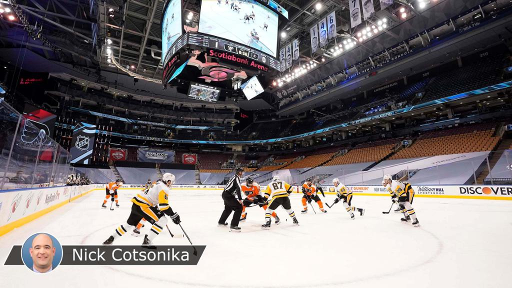 NHL exhibition games begin with new look as test run for Cup Qualifiers
