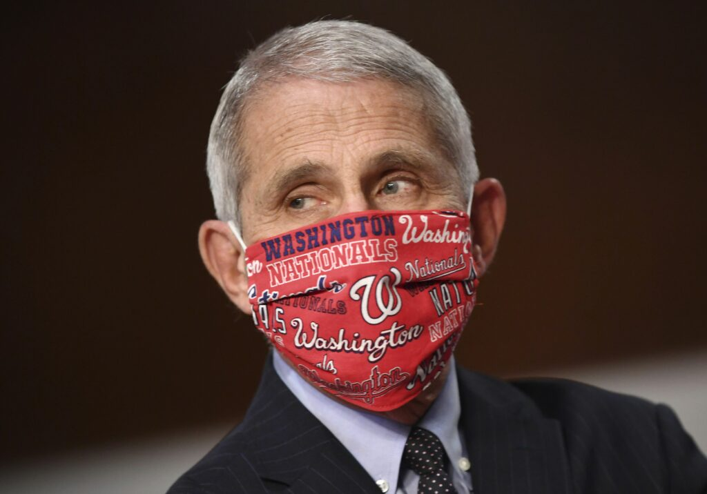 Nationals invite Anthony Fauci to throw out first pitch