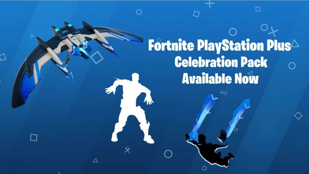 New Fortnite PlayStation Plus Celebration Pack Available - Free Emote, Glider & Contrail