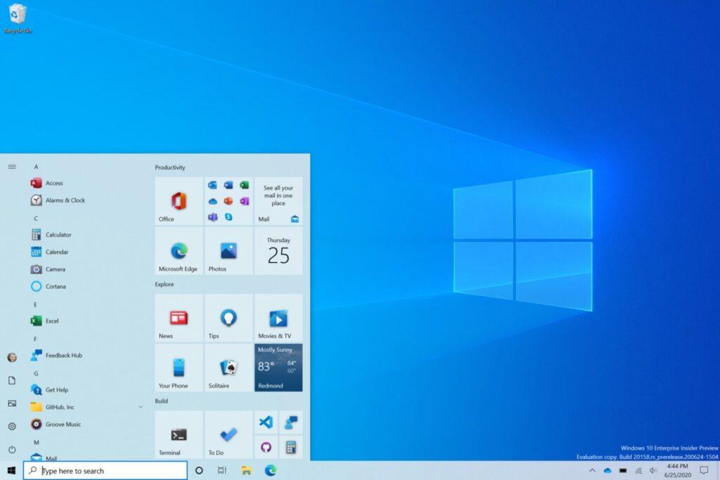New Windows test build makes major changes to Start, Taskbar, and Alt+Tab