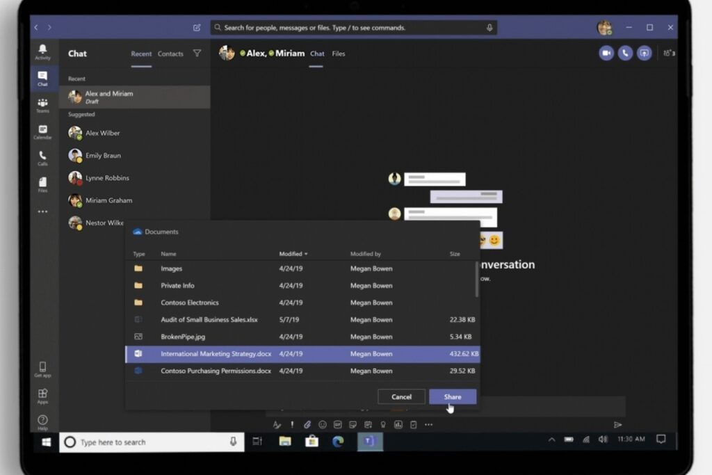 OneDrive simplifies document sharing by making it even more complex