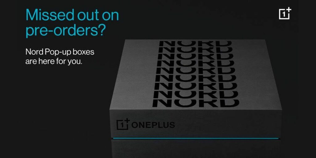 OnePlus Nord online pop-up shop coming soon
