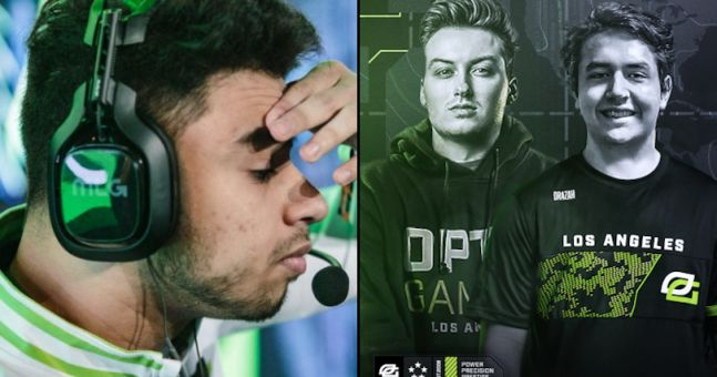 OpTic Gaming LA bench Dashy & Chino after signing two new CDL players