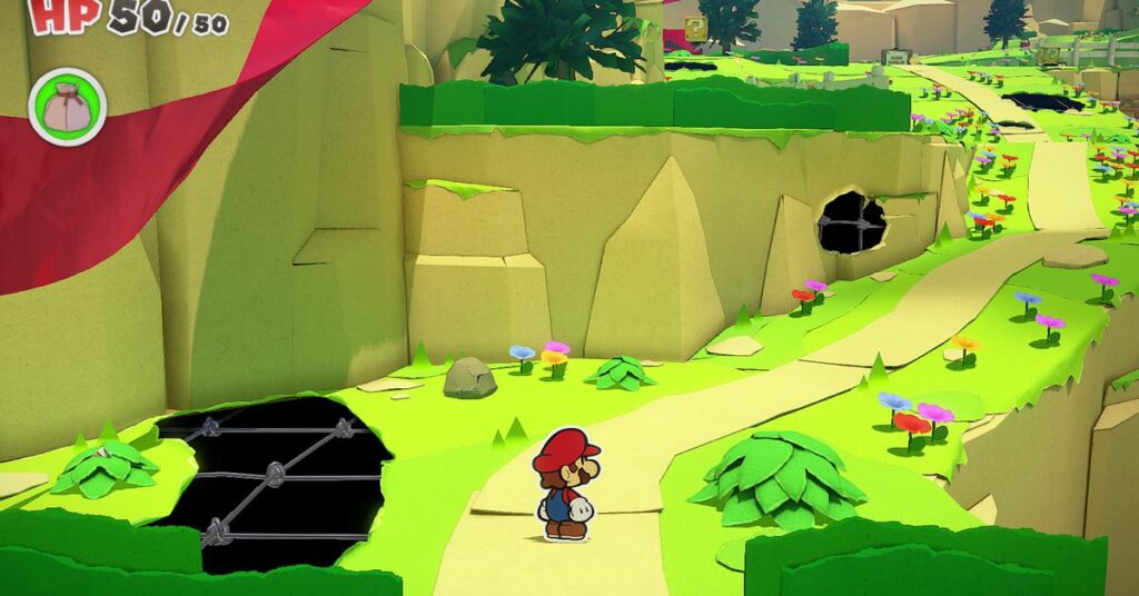 Paper Mario: The Origami King has a game-breaking bug near the end