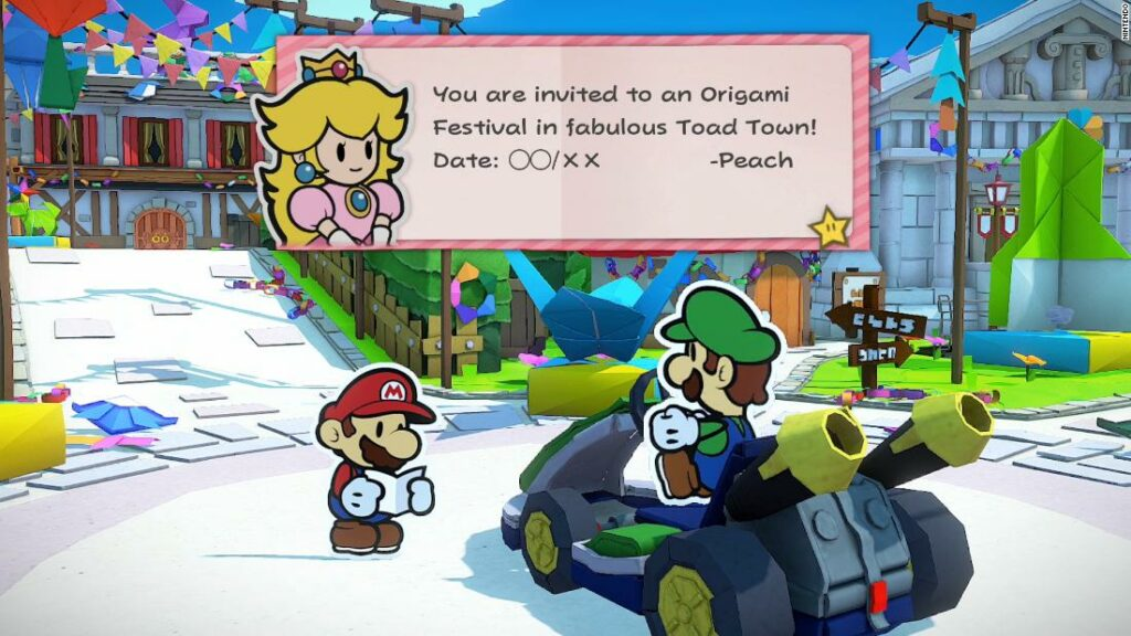 'Paper Mario' on the Nintendo Switch sees Mario making unlikely allies in another nostalgic hit