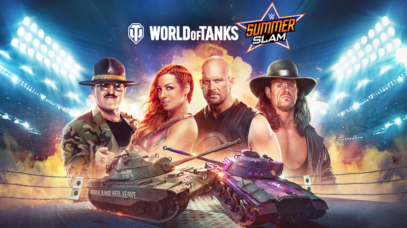 World Of Tanks Adds WWE SummerSlam Tie-In Content