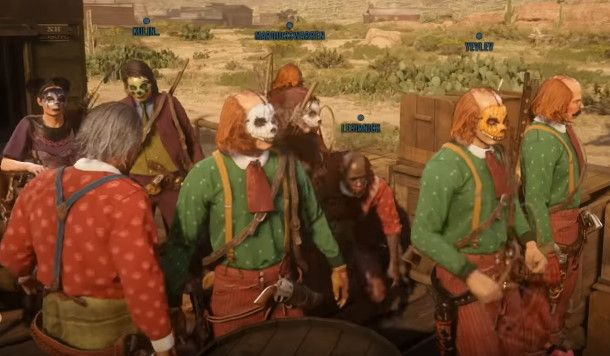 Red Dead Online players are dressing up as clowns to protest a lack of updates