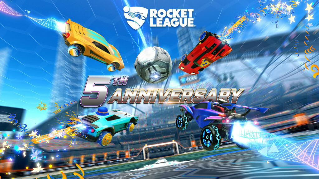 Celebrate Five Years of Rocket League with the Fifth Anniversary Event