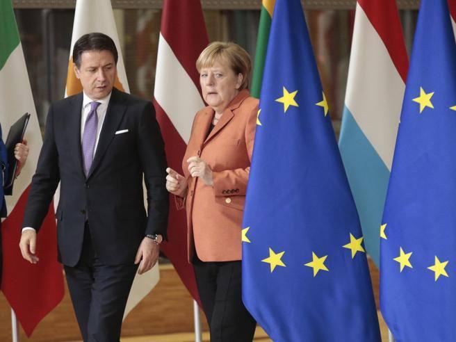 Riforme, debito pubblico e pensioni. Quelle domande di Merkel a Conte per sbloccare il Recovery fund