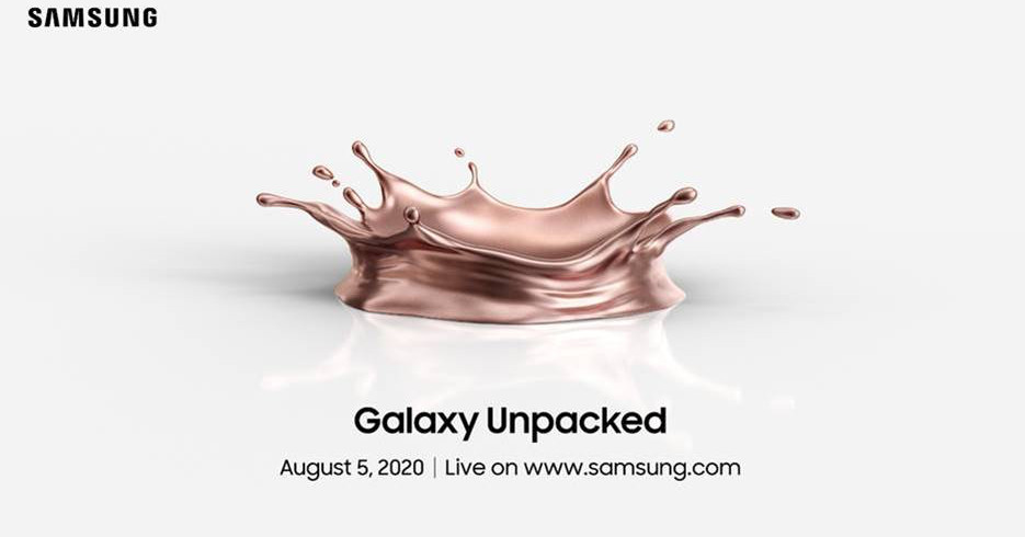 Samsung's Galaxy Note 20 event confirmed for August 5th