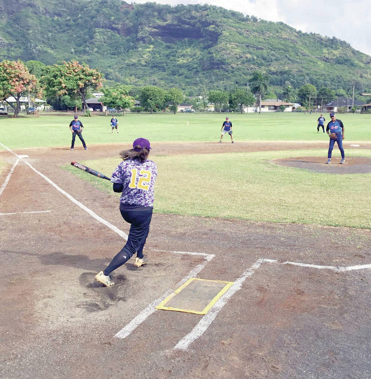 Senior softball standings get shuffled in tight games