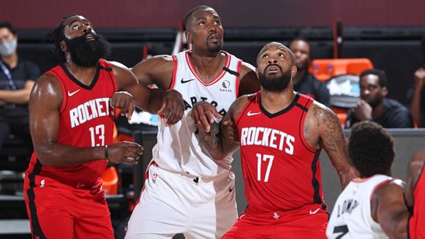 Serge Ibaka scores 18 points, Toronto Raptors beat Houston Rockets in scrimmage