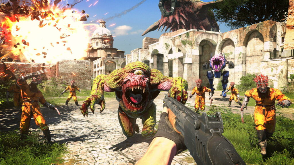Serious Sam 4's new trailer looks like Serious Sam to me