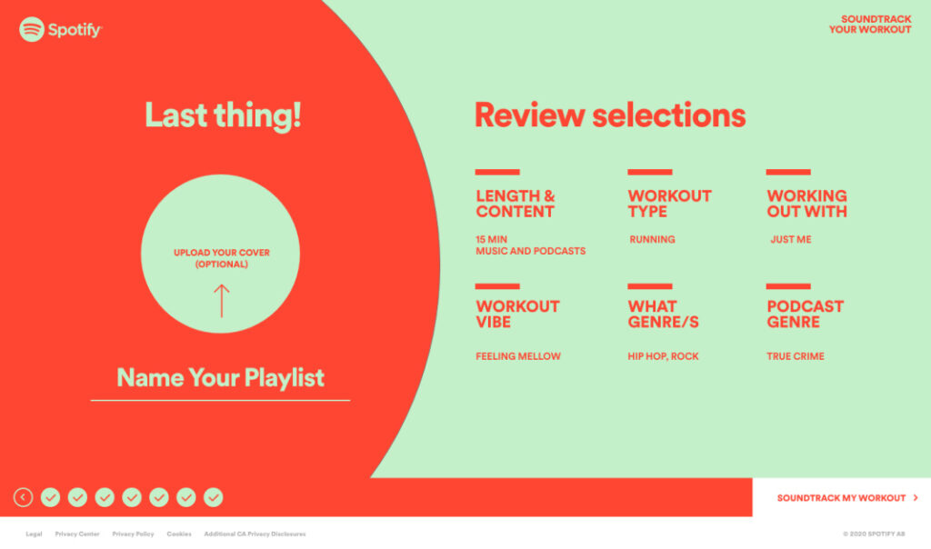 Spotify's latest playlist tool creates a mix to match your workout