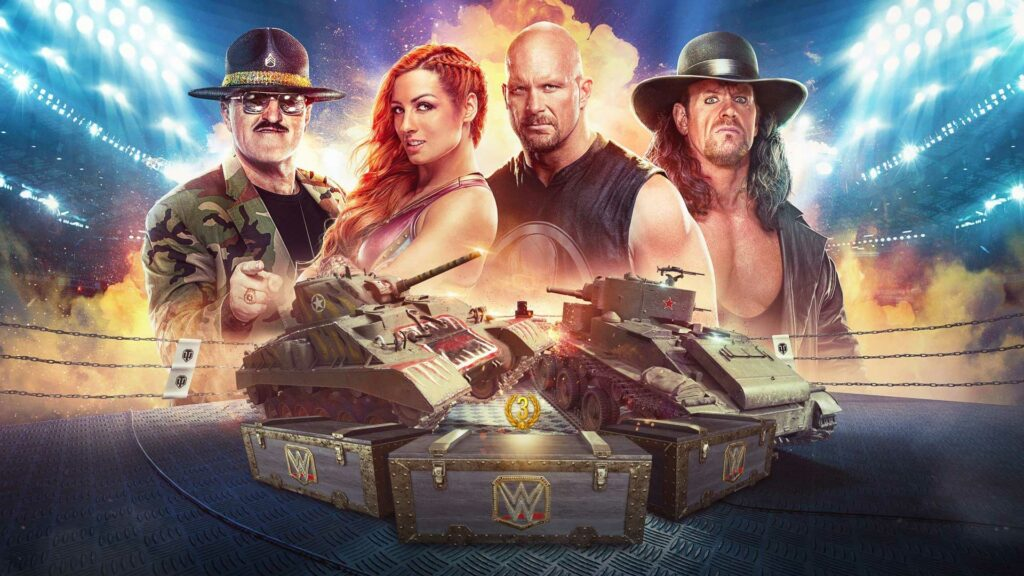 Developer, Wargaming, Latest Patch, World of Tanks, Collaboration, WWE