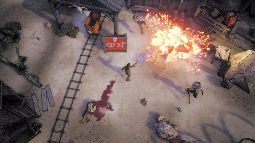 Weird West trailer shows immersive sim influences