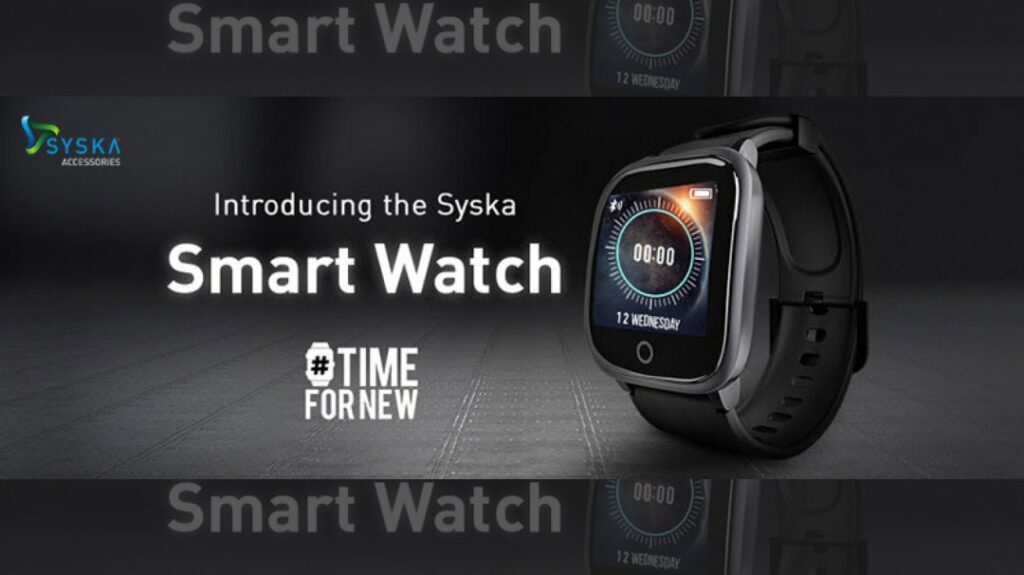 Syska launches 'SW100 Smart Watch' in India | Mumbai